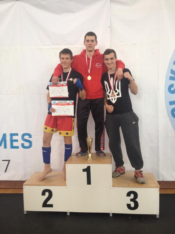 На фото: Роман Постойко – переможець Кубка Європи з кікбоксингу