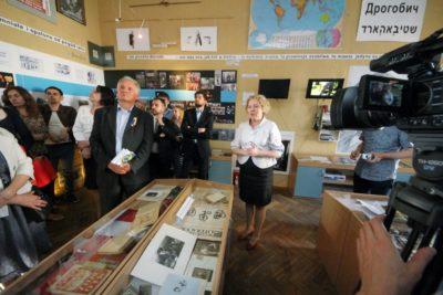 Під час презентації у Кімнаті-Музеї Бруно Шульца