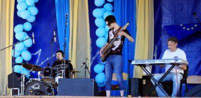 """Під час концерту музичного гурту """"Тарака"""""""