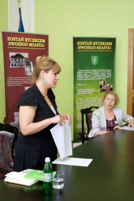 Під час презентації Александри Зіньчук