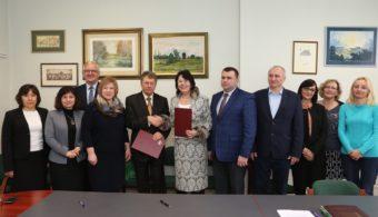Делегація Дрогобицького педуніверситету з керівництвом Вищої професійної школи імені Вітелона у Лєгніці