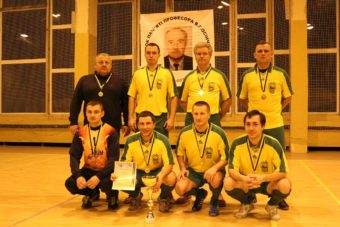 На фото: переможець турніру – збірна команда ДДПУ ім. І. Франка
