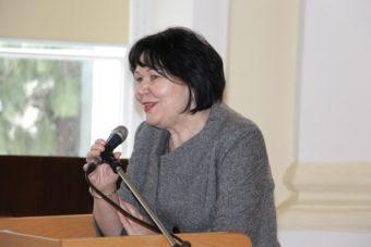 Ректор професор Надія Скотна вітає учасників ІІ Міжнародного науково-практичного семінару