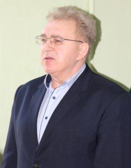 Декан філологічного ф-ту доцент Ярослав Яремко вітає учасників заходу