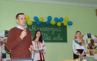 Доцент Степан Сеньків вітає гостей та учасників святкового вечора