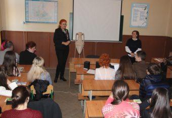 Доценти Ірина Лозинська та Руслана Попп презентують міжнародну співпрацю факультету