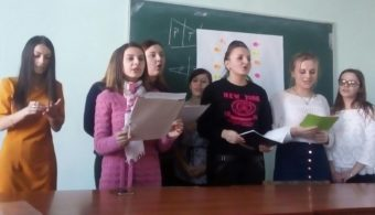 Представники філологічного факультету