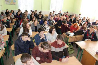 Учасники конференції - учні ЗСШ міста Дрогобич