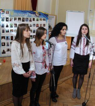 Пісня «Плине кача» у виконанні (зліва направо) Ірини Навроцької, Ірини Грицьків, Лілії Вовк та Уляни Барило