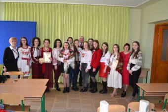 Учасники конкурсу читців поезії Великого Кобзаря