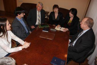 Керівництво університету та представники Програми обговорюють основні аспекти співпраці