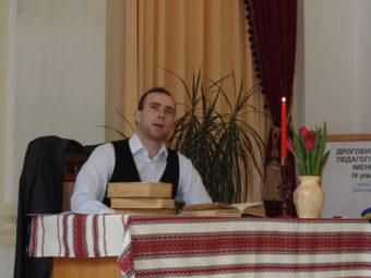 У ролі Кобзаря – студент групи ПП-32Б Андрій Грабинський
