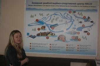 Розповідає директор центру Шперик Мирослава Василівна