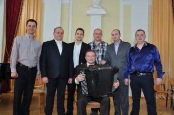 Сергій Карась та його учні
