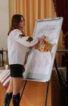 Створення композиції «Відродження України» у виконанні Світлани Іжик