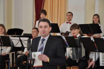 Вітання учасникам фестивалю від проректора Володимира Шарана