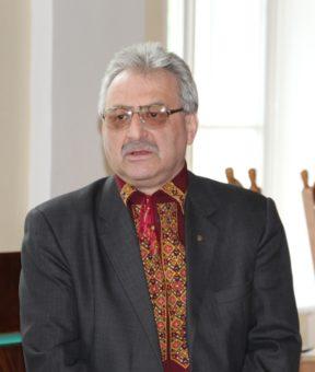 Модератор святкової академії доцент Людомир Філоненко