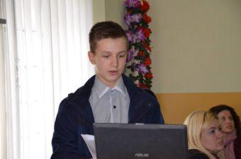Переможець конкурсу – Віталій Кіндратів, учень Дрогобицького педагогічного ліцею
