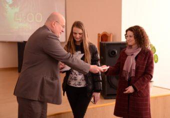 Третє місце в учениці Дрогобицького педагогічного ліцею Вероніки Кулинич