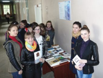 Студенти-філологи ознайомлюються із творчим доробком Мирослава Дочинця