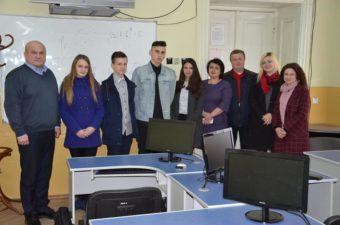Учасники фінального відбору конкурсу бізнес-ідей учнівської молоді