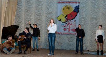 Свої жарти презентує команда «DoRmiDo» (інститут музичного мистецтва)