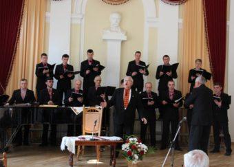 Музичний дарунок у виконанні чоловічого камерного хору «Боян Дрогобицький»