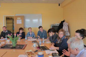 Робоча зустріч представників університетів з обговорення напрямів спільних соціологічних проектів