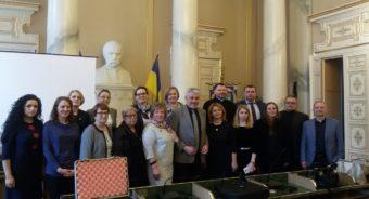 Організаційний комітет під час проведення конференції у Львові