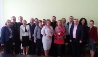 Організаційний комітет під час проведення конференції у Дрогобичі