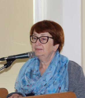 Проф. Марія Дептула Університету Казимира Великого у Бидгощі