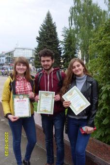 На фото зліва направо: Юлія Чухрай, Сергій Корецький, Ірина Бас.