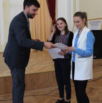 Вручення сертифiкатiв про навчання за програмою Еразмус