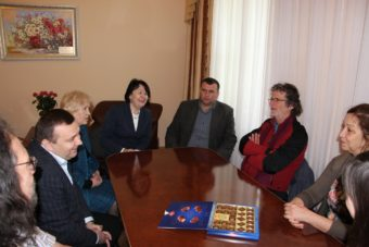 Зустріч керівництва університету з бельгійськими партнерами