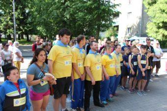 Учасники благодійного пробігу