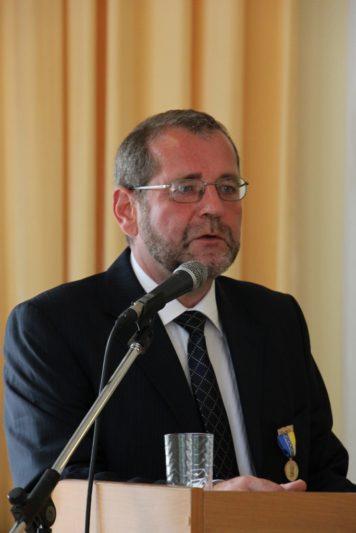 Презентація монографії професором Віденського університету та президентом Міжнародної асоціації україністів Міхаельом Мозером