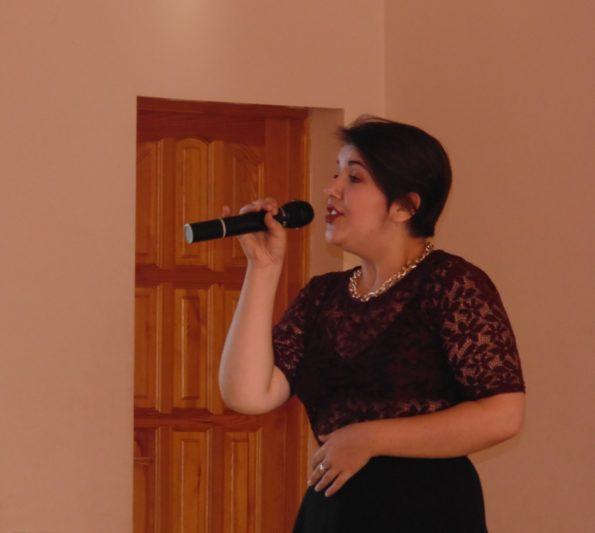 Музичний дарунок студентки історичного факультету Мар`яни Дорош