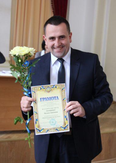 Наймолодший доктор наук (2016-2017 н.р.) - професор Василь Ільницький
