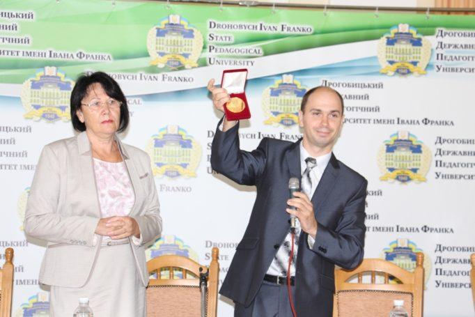 Вручення ректору професору Надії Скотній ордена святих Василіян