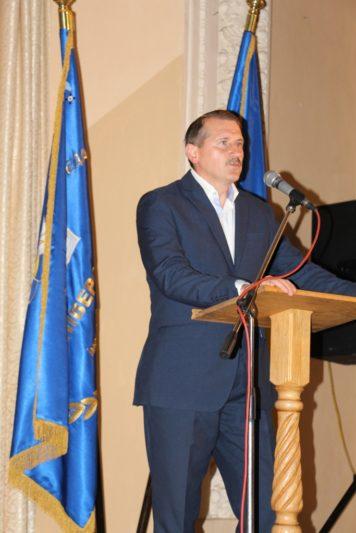 Першокурсників та їх батьків вітає міський голова Дрогобича Тарас Кучма