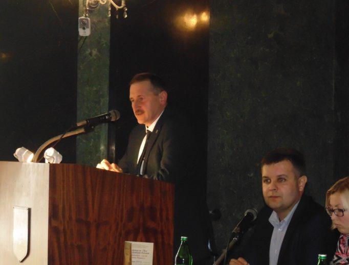 Присутніх вітає міський голова Дрогобича Тарас Кучма