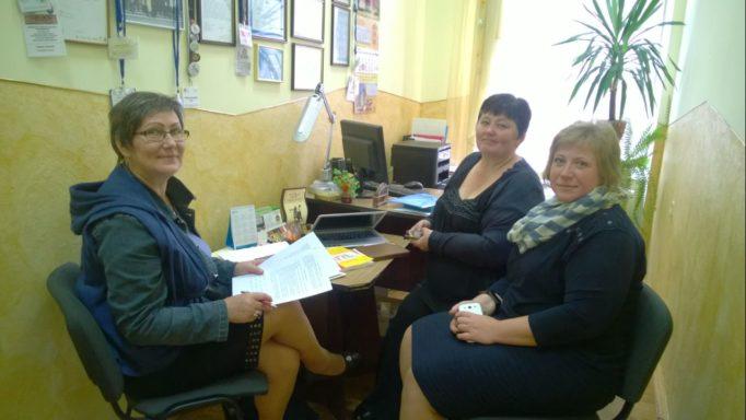 Робоча зустрiч на кафедрi щодо проекту RITA