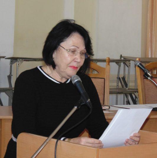 Засідання вченої ради розпочинає ректор професор Надія Скотна