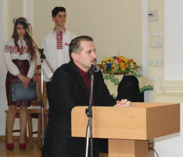 Вітальне слово міського голови Дрогобича Тараса Кучми