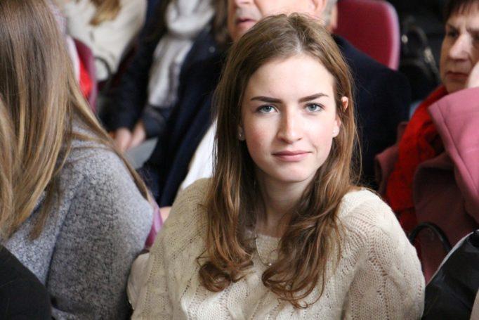 Молодий студент-філолог Софія Сабат