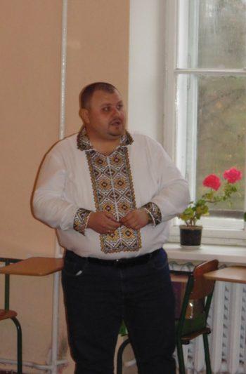 Доповідь доцента Володимира Галика