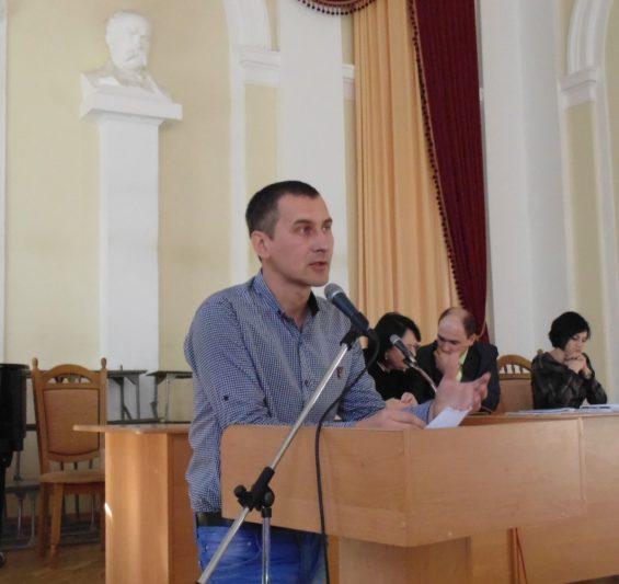 Звіт начальника відділу інформаційної діяльності та зв'язків з громадськістю Володимира Думича