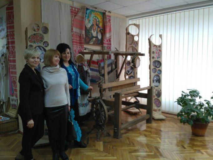 В етнографічному музеї Київського університету імені Бориса Грінченка