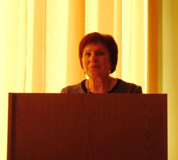 Учасників конференції представляє професор Марія Федурко