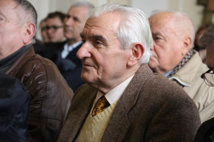 Серед гостей доцент Ярослав Радевич-Винницький